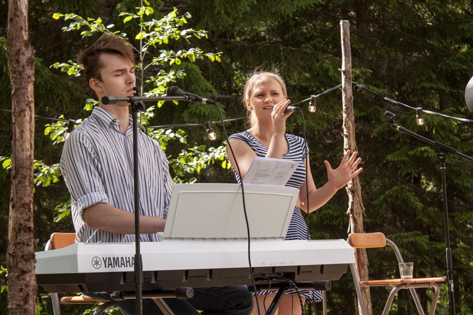 7000apart bjöd på en härlig stämning i solen vid Brygghuset