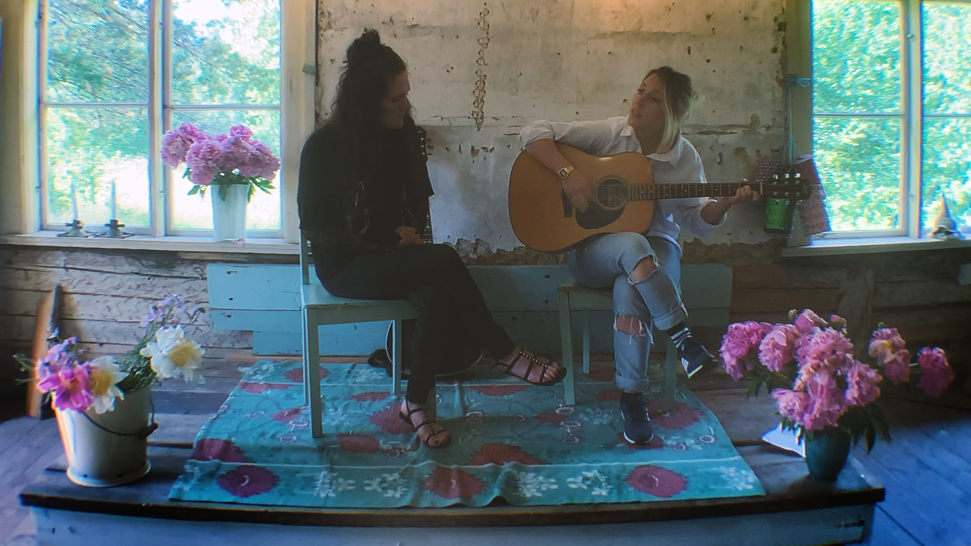 Release me – Live Session av Ceci Noir & Sarah Williams